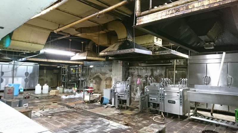 マルカン大食堂の旧厨房
